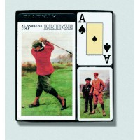 Bridžová sada St. Andrews Golf Jumbo