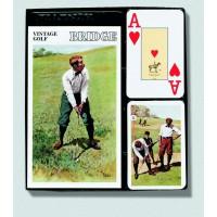 Bridžová sada Vintage Golf Jumbo