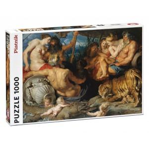 1000 d. Rubens Čtyři řeky ráje