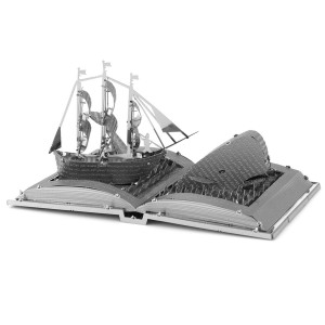 Moby Dick Book Sculpture