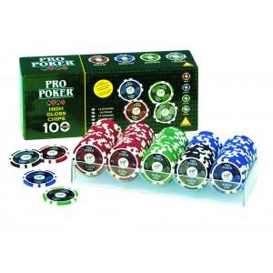Poker Chips 100 High Gloss