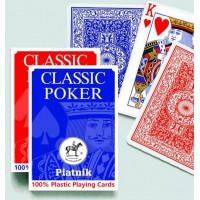 100% Plastic poker