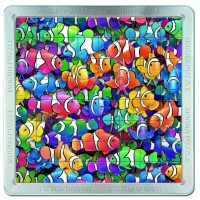 64 d. 3D Magnetické puzzle - Rybičky