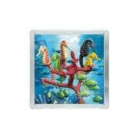 64 d. 3D Magnetické puzzle - Mořští koníci