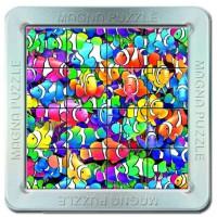 16 d. 3D Magnetické puzzle - Rybičky