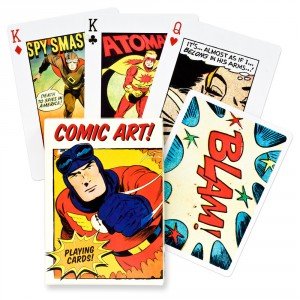 Poker Vintage Comic Art