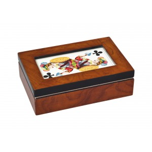 Dřevěná luxusní kazeta - Tarok