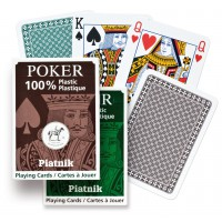 100% Plastic Poker single