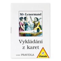 Pravidla - Vykládací karty Lenormand